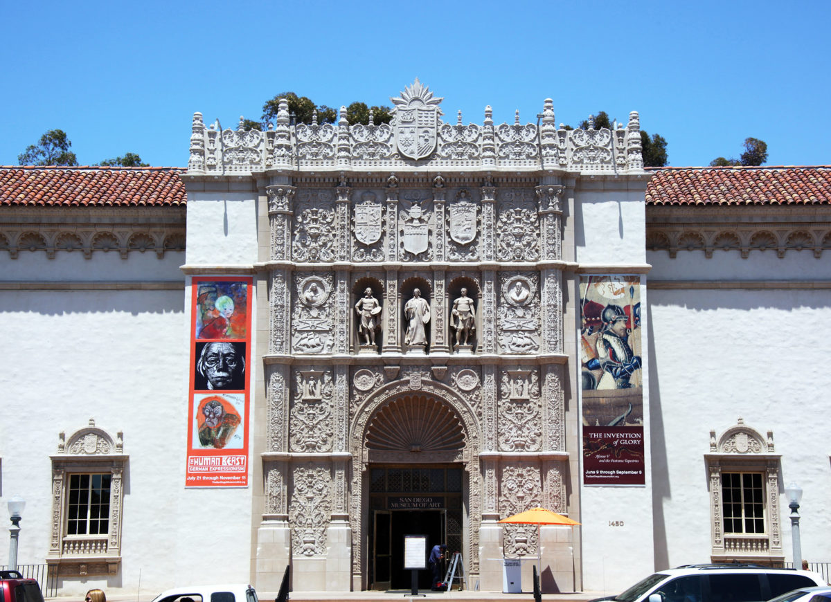 museum building with spanish architecture