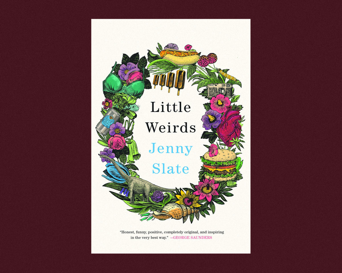 book cover of little weirds by jenny slate