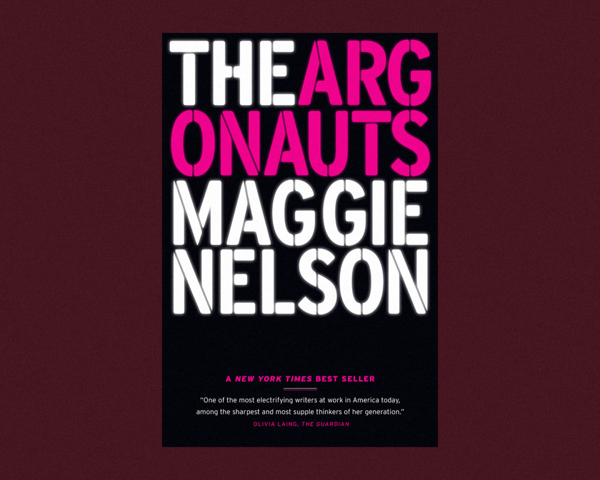book cover of the argonauts by maggie nelson