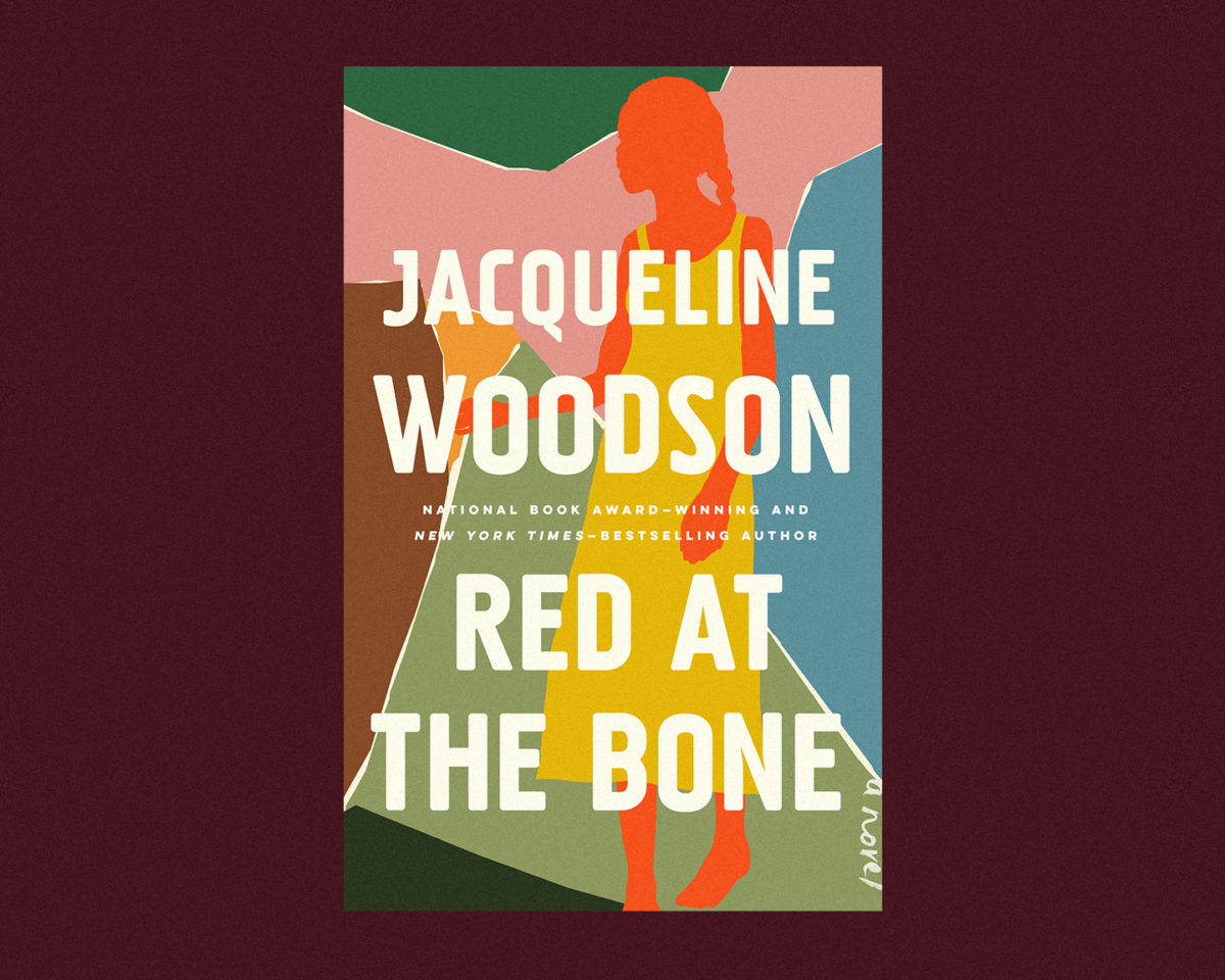 book cover of red at the bone by jacqueline woodson