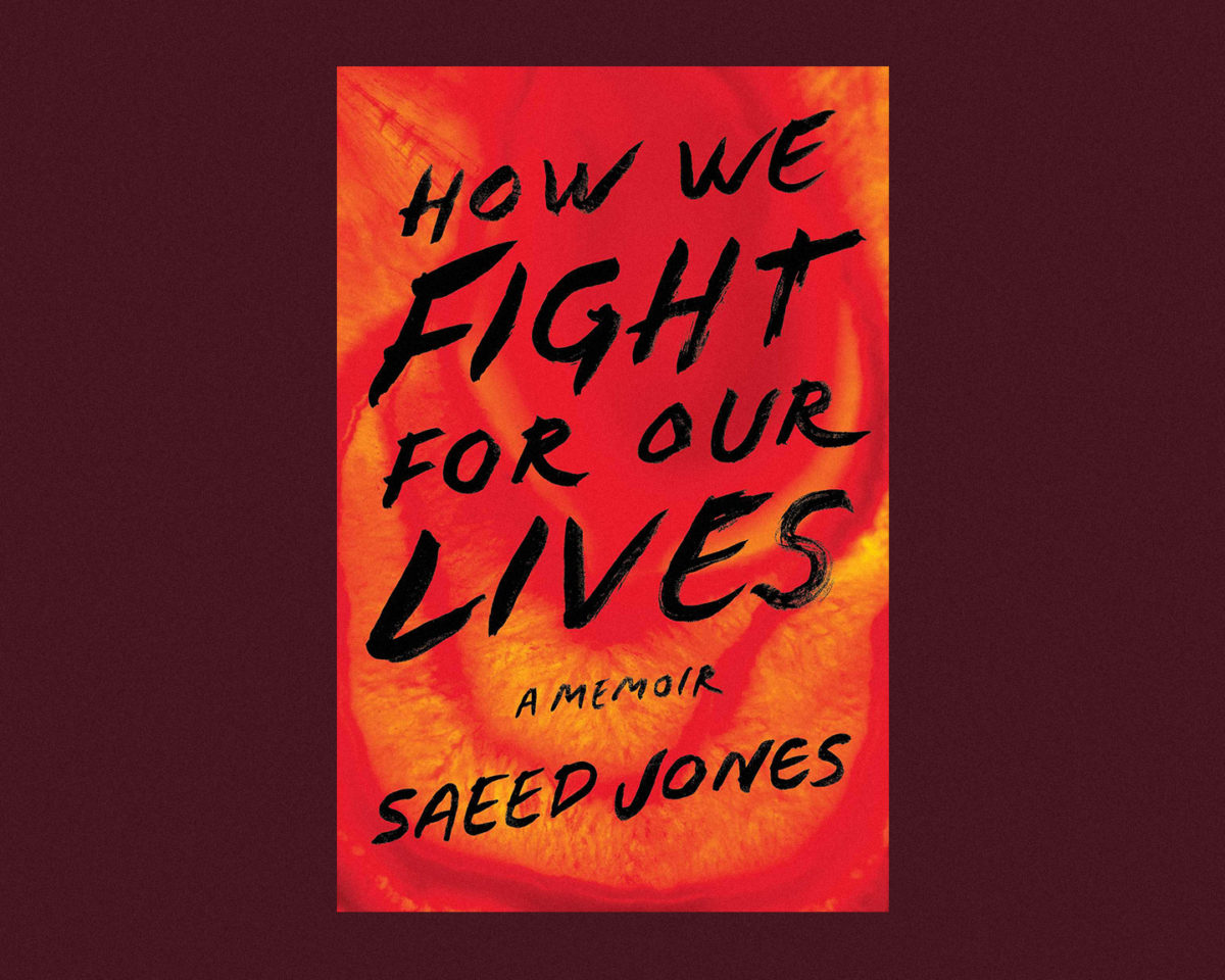book cover of how we fight for our lives by saeed jones