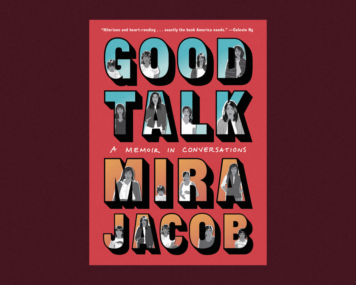 book cover of good talk by mira jacobs