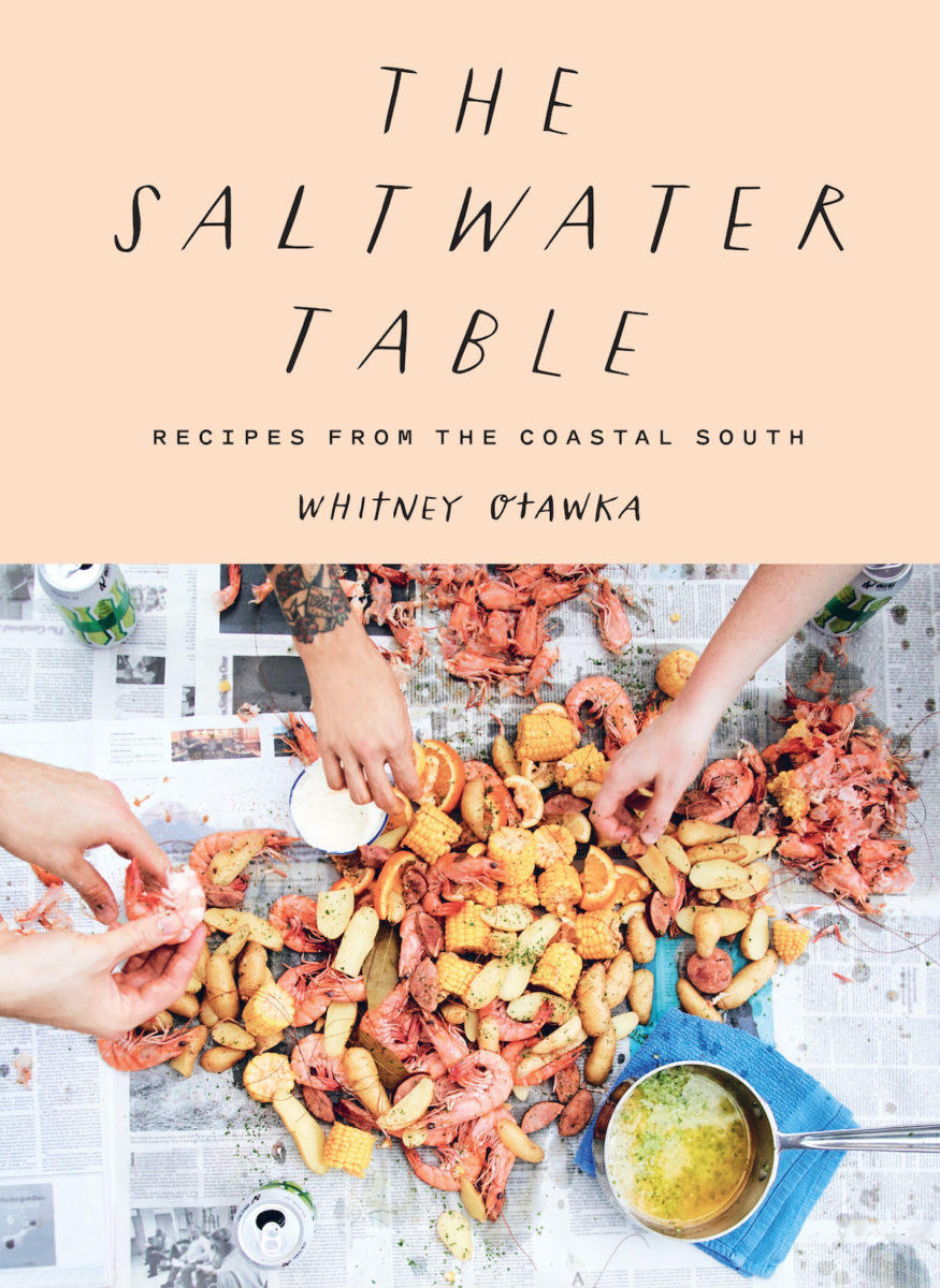 book cover for The Saltwater Table