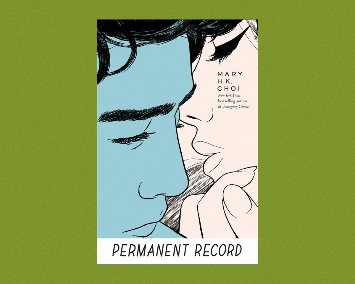 permanent record book cover