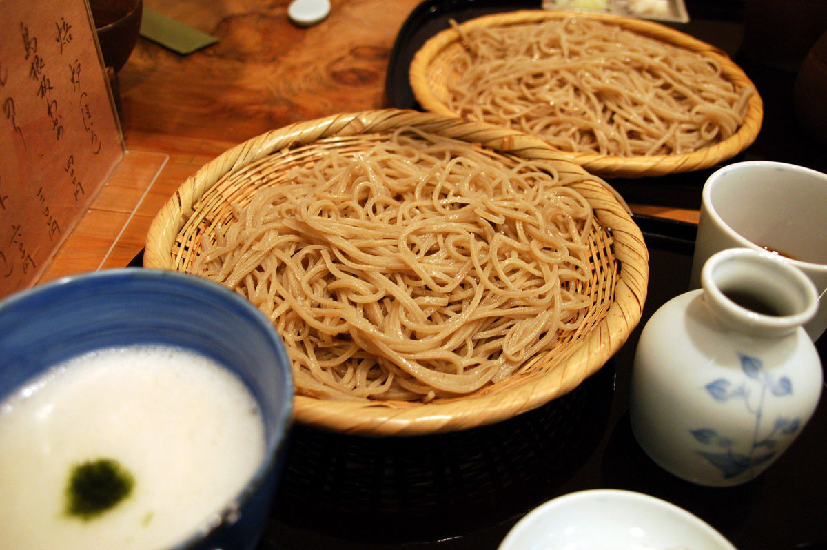 large bowls filled with thick cut noodles