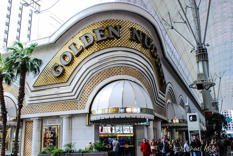 exterior of the Golden Nugget hotel
