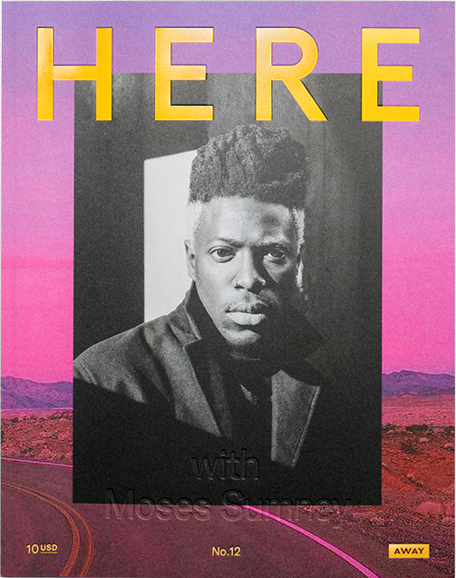 Moses Sumney Here Magazine Cover