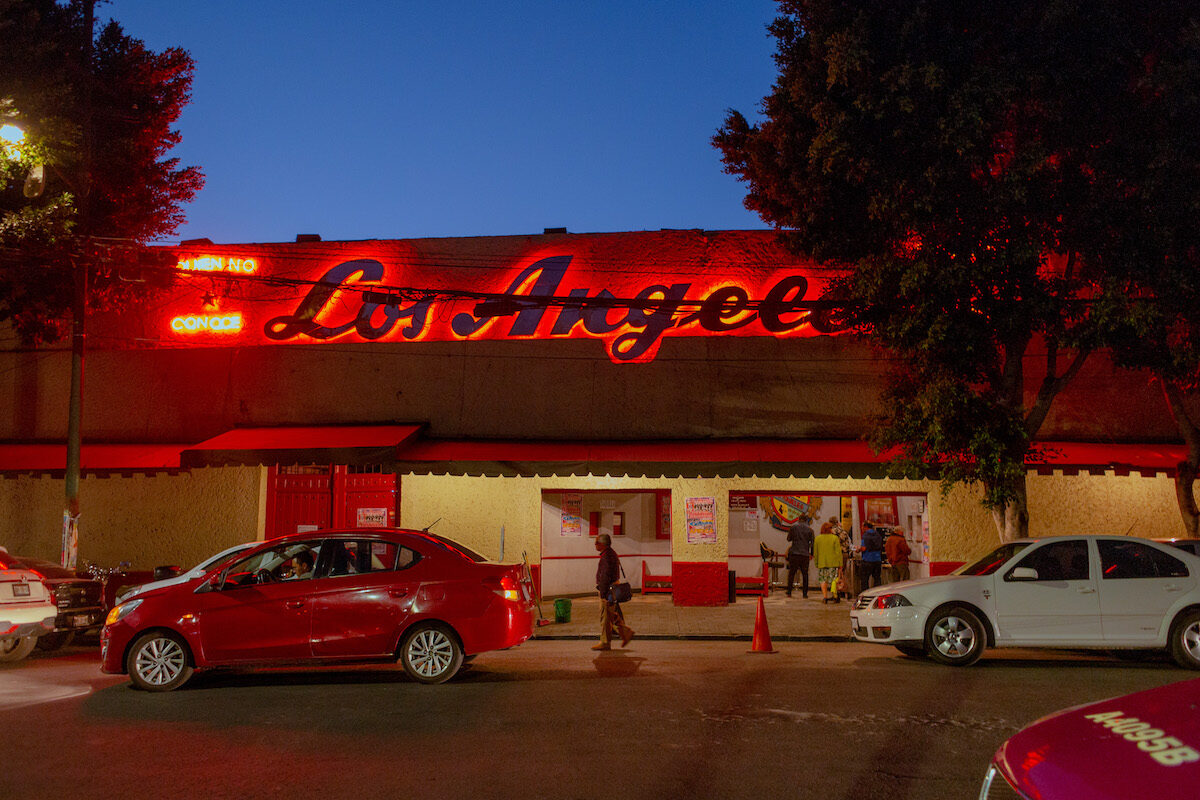 exterior shot of salon los angeles dance hall
