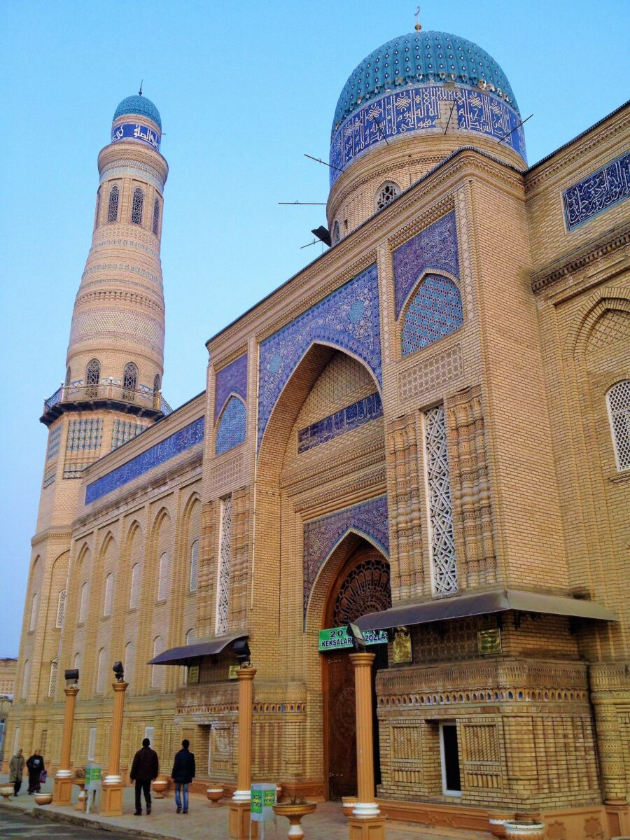 devonaboy jome mosque in andijan