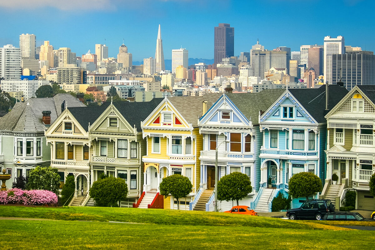 san francisco's alamo square